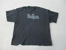 Beatles Concert Shirt Adult 2XL XXL Black Gray Rock Band Tour Music Rocker Mens