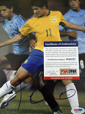 ALEXANDRE PATO BRASIL SIGNED 8 x 10 inch photo PSADNA COA  Buy Authentic