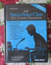 New Novice Voice Class FCC License Preparation (2 Cassettes + 1 Book) Radio Shac