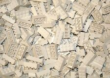 200 Classic White 2x4 bricks Building blocks and 1 Genuine Lego Brick
