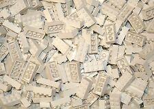 200 Classic White 2x4 bricks Building blocks and 1 Genuine Lego Brick