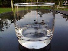 JACK DANIEL'S JESS B. MOTLOW MASTER DISTILLER  LOGO ROUND BOTTOM WHISKEY GLASS