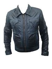 Men's Fashion Leather Jacket Lamb Black Soft Leather Stylish Trendy Jacket
