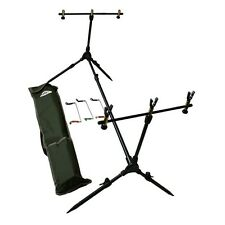 NEW NGT COMPLETE FISHING ROD POD WITH RESTS & INDICATORS