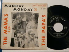 THE MAMA S AND PAPA S Monday Monday RCA VICTOR TP 279 Portugal    $$