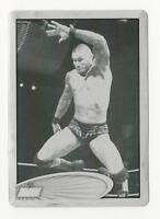 Randy Orton 2012 Topps WWE Wrestling Black Printing Plate Card #2