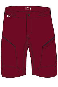 Maloja Girl Freeride short Trousers Iertu. Freeride Shorts Wine Red Plain Colour