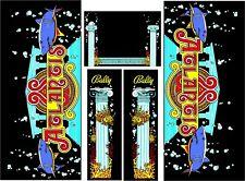Atlantis Pinball Machine CABINET Decal Set