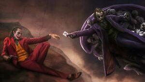 "Joker 22""x36"" Canvas Art Paintings Poster Decor Wall Prints"
