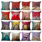 "18"" Vintage Linen Cotton Throw Pillow Case Cushion Cover Home Sofa Bed Decor"