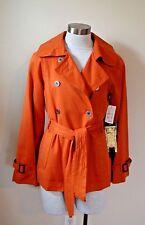 NEW NWT Millard Fillmore Women's Jacket Blazer Double Breasted Orange SMALL