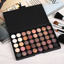 Palette de 40 Couleurs Chaud Fard Ombre à Paupieres Maquillage Eyeshadow Neuf~