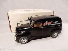 Vintage ERTL Black 1950 Chevy Panel Bank with original Box Great Condition