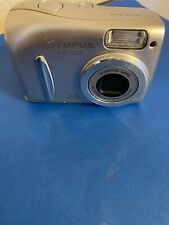 Olympus FE-110 5.0MP Digital Camera - Silver Camera - Tested and Works Well