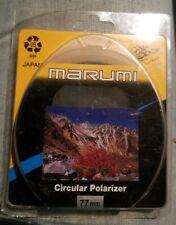 Marumi 77mm Circular Polarizer NEW NOS Made in Japan FREE SHIPPING!