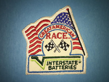 Interstate Batteries Great American Race Classic Rally Jacket Racing Gear Patch