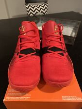 NIKE KYRIE FLYTRAP Mens Basketball Shoes Red/Metallic Gold AA7071-600 Size 11.5