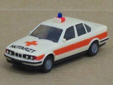 "Bmw 535i (e34) en crema/naranja ""ambulancia Cruz Roja"", o. OVP, Herpa, 1:87"