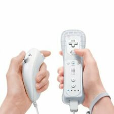 Brand New Motion Plus Remote Controller And Nunchuck For Wii & Wii U FREE CASE