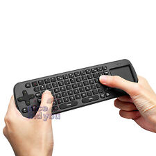 NEW Measy RC12 2.4GHz USB Wireless Mouse Touchpad Keyboard 4 TV PC Media Player