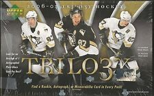 2006-07 Upper Deck Trilogy Hockey Factory Sealed Hobby Box - 9 Hits Per Box