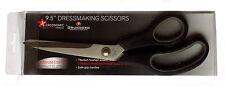 Dressmaker Scissors 9.5'' BY GRUNWERG-ERGONOMIC- Safe Grip TITANIUM FINISH Blade