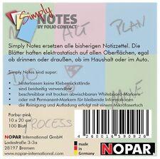 SIMPLY NOTES by Folio Contact, ideal zum planen 10 x 20 cm, pink/rosa, 100 Blatt