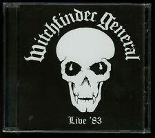Witchfinder General Live '83 CD new nwobhm
