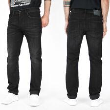 Diesel Herren Regular Slim Fit Stretch Jeans - Vintage Schwarz - Buster R9B60