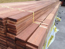 Merbau Screening 65x15 ( 65x11 ) Finger Jointed Laminated Fence Screen Feature