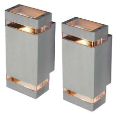 2Pcs 14W Outdoor LED Wall Light Fixture Up/Down Lamp Replacement Waterproof Gate
