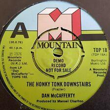 "DAN MCCAFFERTY 7"" THE HONKY TONK DOWNSTAIRS PROMO"