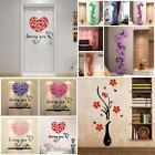New 3D Flower Removable Vinyl Quote DIY Wall Sticker Decal Mural Home Room Decor