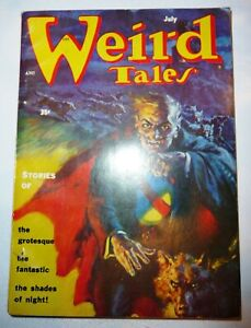 Two Weird Tales Pulp 1st Series May 1954 #Vol. 46 #2  and July 1954 Great Shape