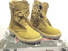 Terra Army Combat Boots Size 235/82 Aust: Women 4.5 Men 4  Made by Redback Boots