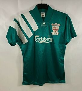 Liverpool Centenary Away Football Shirt 1992/93 Adults Small Adidas A281