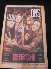 On The Street Magazine SYD - 21st August 1991 - Push Push Cover !!!!!