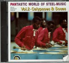 Pantastic World of Steel Music Vol 2 Calypsoes & Socas NEW SEALED  CD