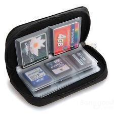 Memory Card Storage Wallet Bag Holder SD Micro Mini 22 Slots Case Camera Phone