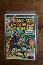 Giant Size Super-Villain Team-Up (1975) #1 Marvel FN+