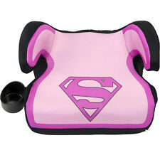KidsEmbrace Booster Car Seat DC Comics Supergirl Backless Baby Safety Travel
