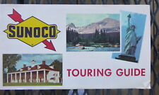 1965 touring Guide n/ map Sunoco  oil  gas 22 pages how to read map games