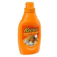 "NEW SEALED REESE""S PEANUT BUTTER TOPPING 7 OZ FREE WORLDWIDE SHIPPING"