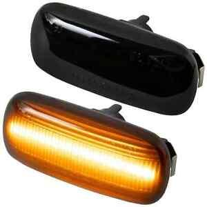 2 REPETITEUR LED AUDI A3 3 P & SPORBACK 2003-2008 A4 B6 B7 2000-2008 A6 4F NOIR