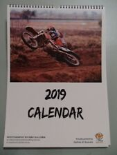 Brand New - Limited Edition - Australian Off Road Motorcycle Spiral Calendar