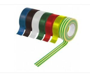 PVC Electrical Insulating Tape 19MM WIDE 5 METERS OR 20 METERS LENGTH