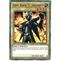 "YUGIOH IGAS-EN092 SHINY BLACK C"" SQUADDER"" - COMMON 1st EDITION"