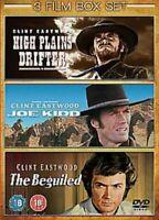 Clint Eastwood 3 Dvd Movies Boxset HIGH PLAINS/JOE KIDD/BEGUILED New Sealed