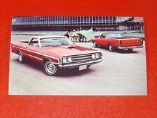 NOS 1969 Ford Ranchero original dealership promotional advertising postcard