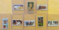 1880's Allen & Ginter's Cigarettes W.D. & H.O. WILLS IMPERIAL (8 Tobacco Cards)